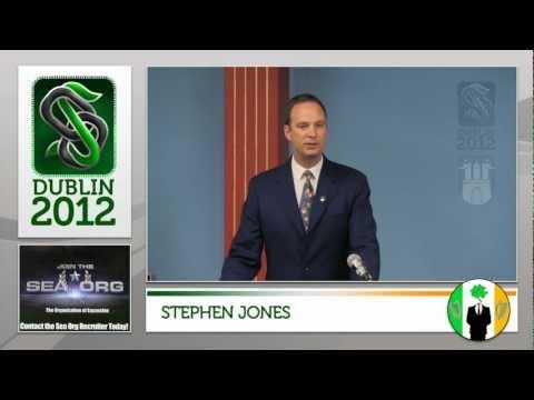 Stephen Jones (ex Sea Org Member and UK Scientology Org Management ) at Dublin Offlines