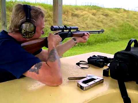 Remington 552 SpeedMaster in action