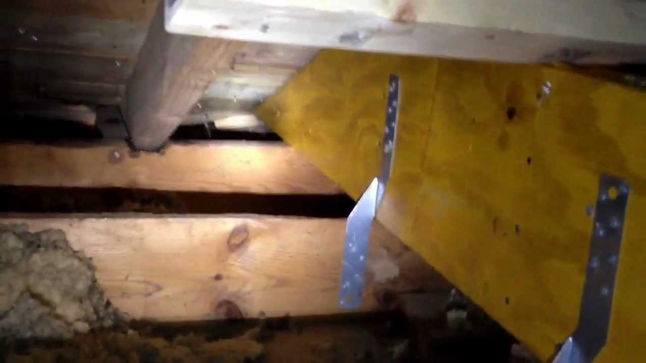 Removing bearing walls youtube for Can a load bearing wall be removed
