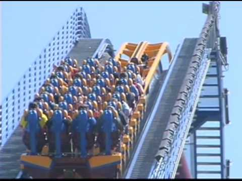 Roller Coaster Rides at Six Flags Scream Roller Coaster at Six
