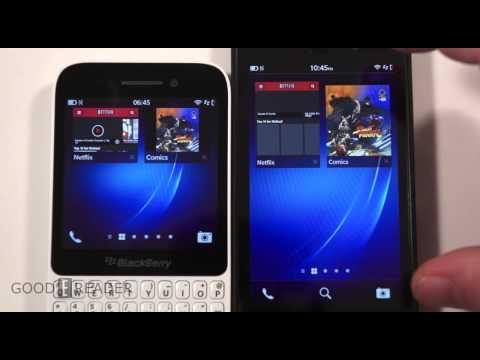Blackberry Q5 vs Blackberry Z10 Comparison