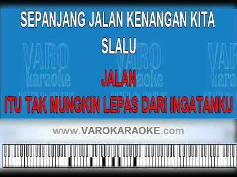 download lagu Sepanjang Jalan Kenangan Karaoke gratis