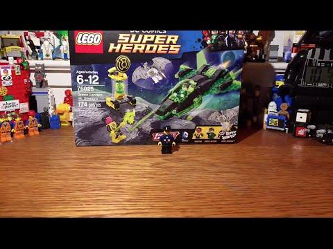 Building the Lego Super Heroes Green Lantern vs. Sinestro