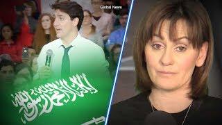 Trudeau dodges Saudi oil question at Regina Town Hall | Sheila Gunn Reid