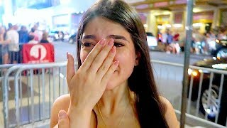 I've never seen her Cry Like this ...