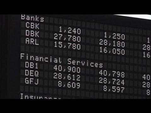 Les marchés boursiers européens applaudissent la mise en action de la BCE