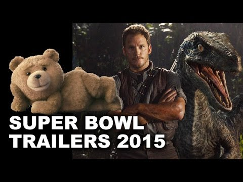 Super Bowl Commercials 2015: Jurassic World, Ted 2, Tomorrowland - Beyond The Trailer