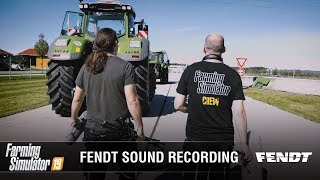 Farming Simulator 19 | FENDT Sound recording