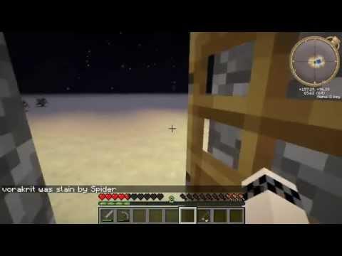 [GRG]Minecraft ใช้ชีวิตบนแมพโล่งทะเลทราย#2