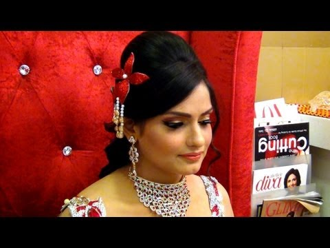 Indian Wedding Makeup - Makeup For Engagement - Glamorous Look video
