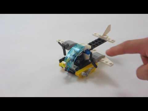 LEGO City- Prison island plane Review set 30346