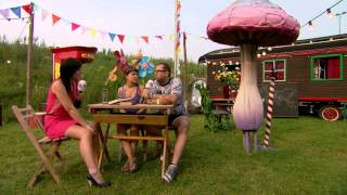 Red D & Lady Linn - Interview at Tomorrowland 2012