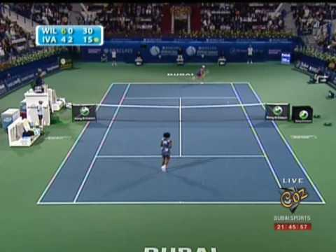 Serena Williams & Ana Ivanovic WTA Dubai 2009
