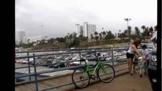 Lakers George HIll @ Sta Monica beach. 2May2012.wmv