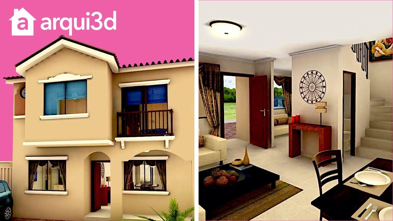Full hd 1080p casa modelo carmela urbanizaci n la for Casas con planos y fotos