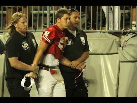 Anthony Schlegel Tackles Fan on Field Full Video