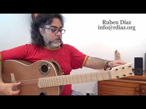 The Way Paco De Lucia Tuned /Learn Tuning In 5 Steps / Modern Flamenco Guitar / Ruben Diaz Spain