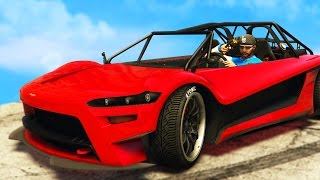 INSANE NEW GTA 5 DLC CAR HIJAK RUSTON!! $500000 SPENDING SPREE!
