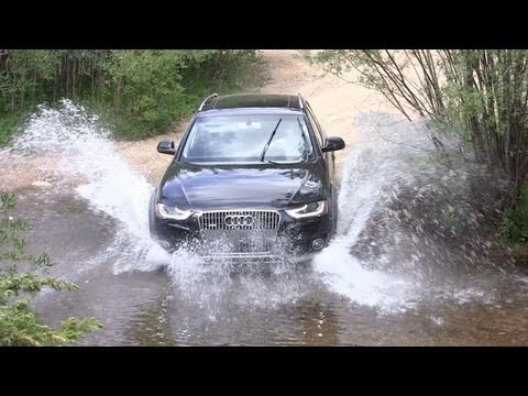 2013 Audi Allroad Quattro Off-Road Review & Drive