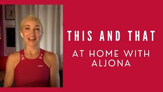 This and That: Staying Fit With Aljona Savchenko