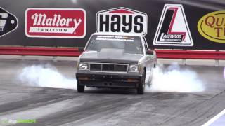1000+hp S10 runs 8s, FASTEST Stock Bottom End LS in Existence
