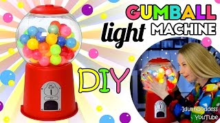 How To Make A Gumball Machine Light – DIY Gumball Machine Night Light Tutorial