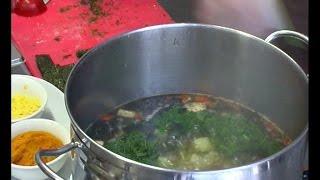рецепт -  «Уха» из тофу и нори