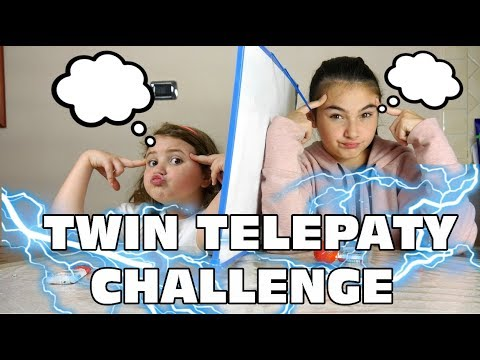 TWIN TELEPATHY CHALLENGE  By Marghe Giulia Kawaii