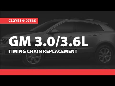 GM Timing Replacement, HFV6 2007-2015,  (Cloyes 9-0753S)