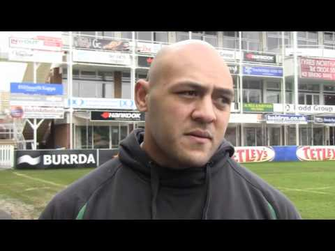 Soane Tonga'uiha looks ahead to Saints vs Gloucester - Soane Tonga'uiha speaks about Saints vs Glouc
