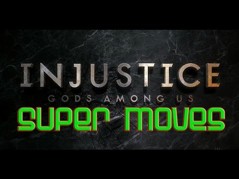 Injustice: Gods All Super Moves