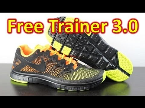Nike Free Trainer 3.0 2013 - Review + On Feet