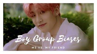 Me vs. my Friend : K-Pop Boy Group Biases