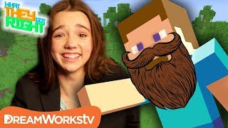 Minecraft Steve Used to Look Like THIS?! | WHAT THEY GOT RIGHT