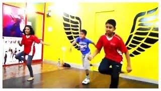 Manma Emotion Jaage - DANCE video for KIDS   beginners Dilwale   Varun Dhawan     Party Anthem