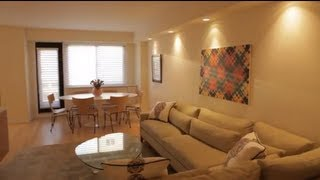 A cluttered apartment turned modern oasis - Thank god I hired a designer video