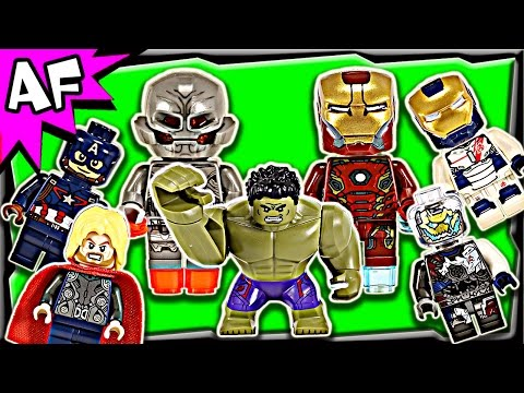 Lego Marvel Avengers Minifigures 2015 Complete Collection Winter Wave