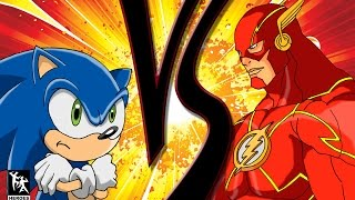 Sonic Vs The Flash: The Red Blue Blur