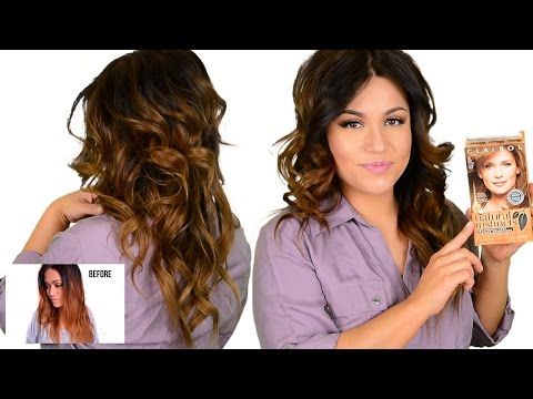 DIY DRUGSTORE Tone Brassy Orange. Ombre & Highlighted Hair