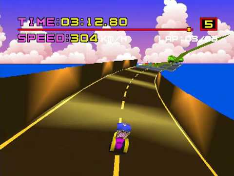 Motor Toon Grand Prix [モータートゥーングランプリ] Game Sample - Playstation