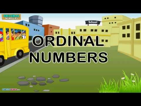 Number Practice Kindergarten Practice Ordinal Numbers