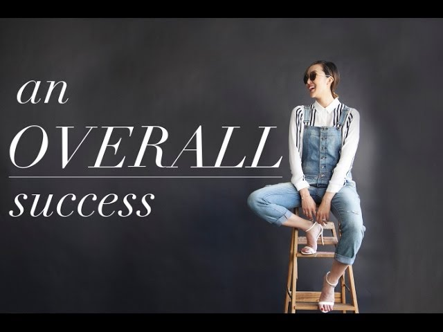 An Overall Success - How To Wear Overalls in 5 Different Ways