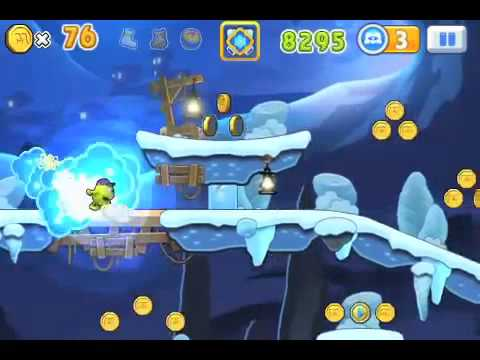 Monster, inc  Run Ice Cave Full Walkthrough Корпорация монстров  Побег ios iphone gameplay