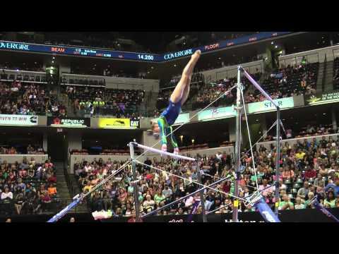 Rachel Gowey – Uneven Bars – 2015 P&G Championships – Sr. Women Day 1