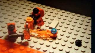 Star craft in Lego:Saved by shutle