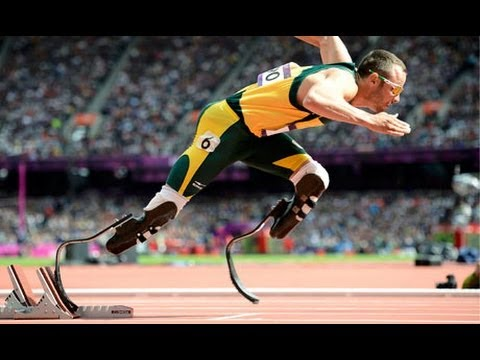 London 2012 Olympics: 'Bladerunner' Oscar Pistorius interview