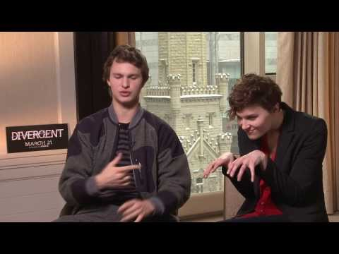 Ansel Elgort and Veronica Roth talk 'Divergent' and a world where everyone is Candor