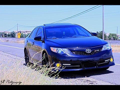 Cam's Personal Car 2012 Camry SE Start Up-Part 2 Daytime