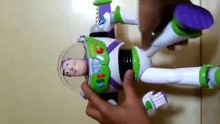 Buzz Lightyear Talking Action Figure Review!! HD
