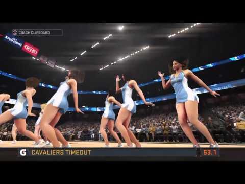 NBA 2K16 Online Ranked Series: Memphis Grizzilies vs Cleveland Cavaliers Marc Gasol Mike Conley Out